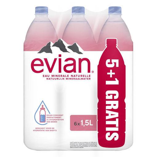 Afbeeldingen van EVIAN (5+1 GRATIS)X1,5L PET